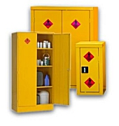 COSHH cabinets chemical & acid storage